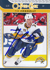 TIM CONNOLLY SABRES AUTOGRAPH AUTO 09/10 O-PEE-CHEE OPC #464 *25385