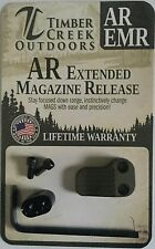 TIMBER CREEK OUTDOORS - CERAKOTE OD GREEN - EXTENDED MAGAZINE RELEASE - EMR