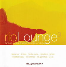 Rio Lounge 3: Bossa Nova & New Brazilian Vibes | 2-CD-Set