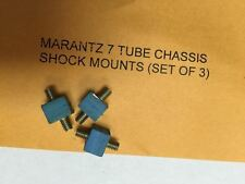 Marantz 7 and 1 Tube Chassis Rubber Isolation Mounts (shockmounts/cushions) 3pc.