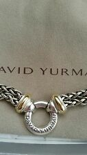 WOMAN'S DAVID YURMAN DOUBLE WHEAT CHAIN NECKLACE WITH 18K GOLD