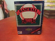 1989 Upperdeck Baseball high # series