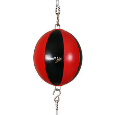 TurnerMAX Vinyl Double End Speed Balls Dodge punch Ball to Straps Boxing MMA