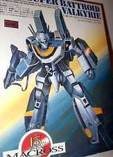 Bandai Macross 1/100 VF-1S Super Battroid Valkyrie Model Kit P22 JAPAN VINTAGE