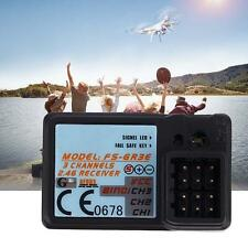 Waterproof Rc Receiver 6 Channel 2.4GHz For Flysky FSR6B Helicopters & Planes SM
