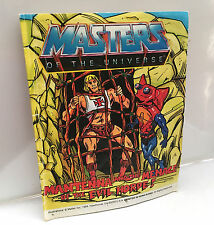 HE-MAN COMIC BOOK • MASTERS OF THE UNIVERSE •VINTAGE MATTEL BOOKLET