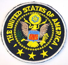 GRAND SEAL UNITED STATES  EMBROIDERED APPLIQUE BADGE MORALE PATCH SEW OR IRON ON