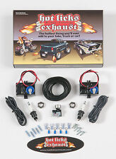 Hot Licks Exhaust Flamethrower Dual Exhaust Kit for Motorcycles; All Vehicles