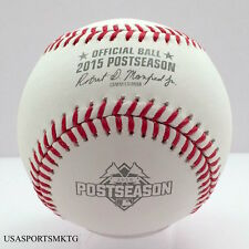 Rawlings 2015 World Series Official Postseason Game Baseball Cubs Royals Mets