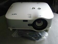 NEC NP1150 LCD PROJECTOR, 3700 LUMENS!!! CLEAN & BRIGHT IMAGE!! WORKS GREAT!!