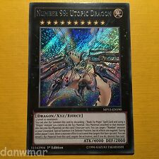 Number 99: Utopic Dragon (39 Utopia) - YuGiOh - MP15 - Secret Rare - Mint card!
