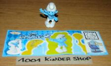 KINDER FT122 FT 122 SCHTROUMPF SCHLUMPF SMURF 2 - CLUMSY + BPZ NEUTRAL