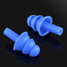 New 1Pair Silicone Ear Plug Anti Noise Snore Earplugs Comfortable For StudySleep