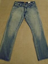 PRPS BARRACUDA Straight Distressed Jeans Mens 36 x 33 Orig. $275+ Light Wash