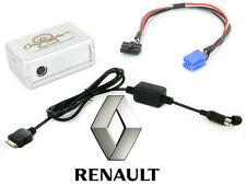 Renault Clio iPod adapter interface iPhone car Tuner Update List CTARNIPOD003.2
