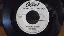 RARE DEAN MARTIN WLP PROMO PROMISE HER ANYTHING / THE TRICHE TRACHE ON CAPITOL