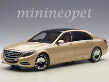 AUTOart 76294 MERCEDES BENZ MAYBACH S-KLASSE S 600 1/18 MODEL CAR CHAMPAGNE GOLD
