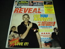 R.E.M. REM Reveal 2001 PROMO POSTER AD ...little known facts about R.E.M. mint c