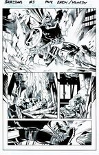 BATTLE SCARS 3pg18 TASKMASTER VS NICK FURY JR (NEW NICK FURY) AWESOME 1/2 SPLASH