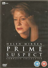 PRIME SUSPECT - The Complete Collection. Helen Mirren. ITV (10xDVD BOX SET '06)