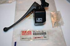 nos Yamaha snowmobile handlebar brake lever holder ss440 srv phazer vmax ex570