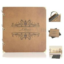 DIY Photo Albums Kraft Blank Scrapbook Picture Memory Diary Notebook Mother Day