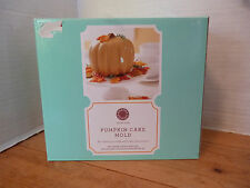 Martha Stewart 3D PUMPKIN CAKE MOLD Silicone Bakeware Box & Instructions