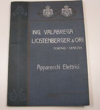 Ing. Valabrega Lichtenberger & Ori. Torino. Venezia. Catalogo di app...