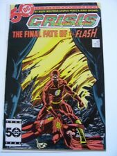 Crisis on Infinite Earths # 8, Flash Vol.2 #2 vs Vandal Savage The Rogues #1