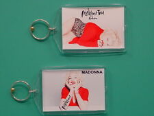 MADONNA - Rebel Heart Tour - with 2 Photos - Collectible GIFT Keychain 07