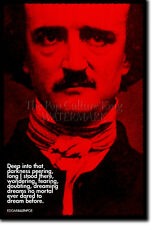 EDGAR ALLAN POE ART PRINT PHOTO POSTER GIFT QUOTE POET ALLEN