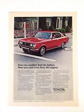 1971 Toyota Corona Mark II Vintage Original Print Ad
