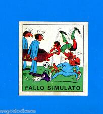 CALCIATORI PANINI 1970-71 - Figurina-Sticker 21a -FALLO SIMULATO PROSDOCIMI-Rec