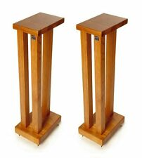 Hi Fi Racks Podium Slimline Speaker Stands 600mm Cherry (Pair)