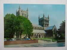 Postcard Wimborne Minster,Dorset,UK Vintage c1970's. (093).