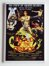 Blood of the Dragon FRIDGE MAGNET movie poster martial arts