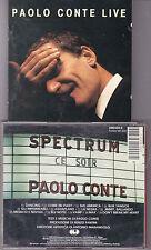 CD 13T PAOLO CONTE LIVE DE 1989 246432-2