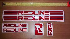 Redline autocollant set-old school bmx decals