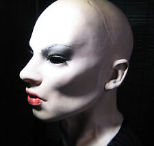 Dominant Emily Mask + Lashes/pestañas-real. female látex látex máscara mujeres máscara