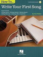 HOW TO WRITE YOUR FIRST SONG-138010