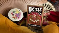 USPC Bicycle Gold Dragon Back Playing Cards Decks!!
