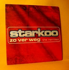 Cardsleeve single CD Starkoo Zo Ver Weg (The Remixes) 3 TR 2003 Jumpstyle, Disco