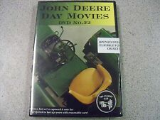 John Deere Day MovieDVD #22 1020 2020 1520 2520 3020 4020 5020 Turbo Built 4520