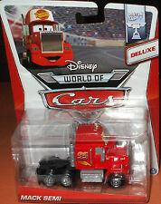 *NEW* Disney Pixar CARS ~ MACK SEMI ~ PISTON CUP DELUXE DieCast Truck 9/16