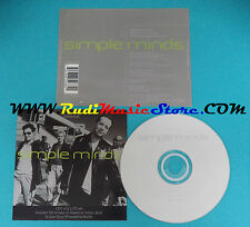 CD Singolo Simple Minds Glitterball 7243 885268 2 1 UK/EU 1998 no mc vhs lp(S23)