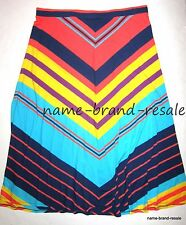 LANE BRYANT $59 New PLUS 22 24 3X Long Maxi SKIRT Comfy MODEST Chevron NWT