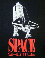 1988 Space Shuttle T-Shirt (M) NASA Blackbird USA Discovery Atlantis
