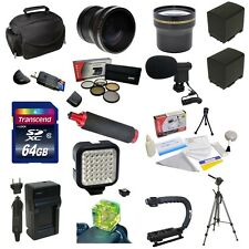 Advanced Accessory Bundle for the Canon VIXIA HF G20 & HF G10