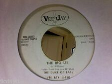 DUKE OF EARL-THE BIG LIE/DADDY'S HOME-VEE JAY PROMO 450. VG++