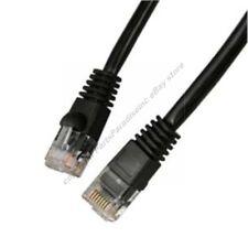 Lot40 5ft RJ45Cat5e Ethernet Cable/Cord $SH DISC{BLACK{F